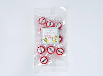 透明PP袋(シール貼付)