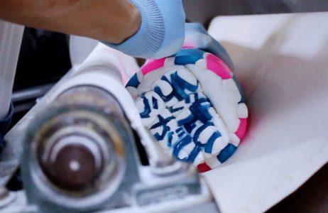 手洗いうがい飴製造