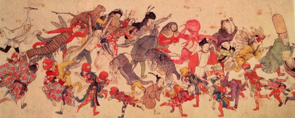 江戸時代の仮装
